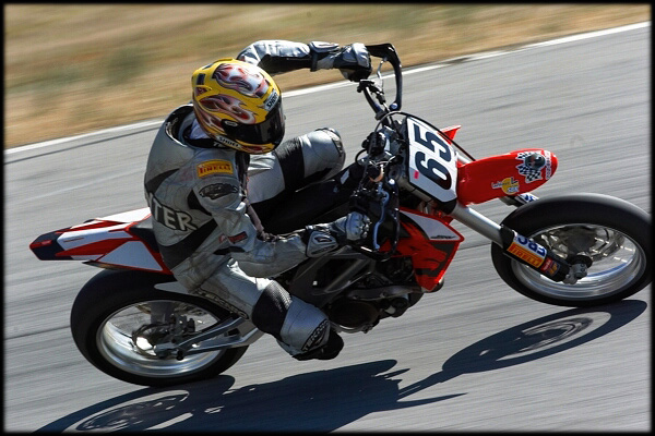 Scott on SuperMoto @ VIR